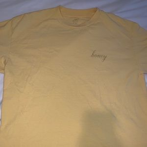 brandy melville (john galt) honey shirt